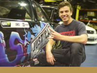 "Drift star Jake ""DriftSquid"" Jones heads for the hills"
