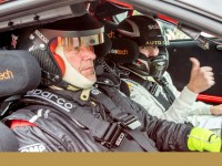 Tarmac rally testing for top Nissan GT-R teams at historic Baskerville Raceway